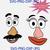 Mr and Mrs Potato Head Faces svg, Digital Files Vinyl Cutting, Printing, Mrs