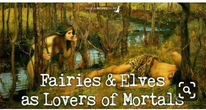 Elementals and mortals as lovers ♥️