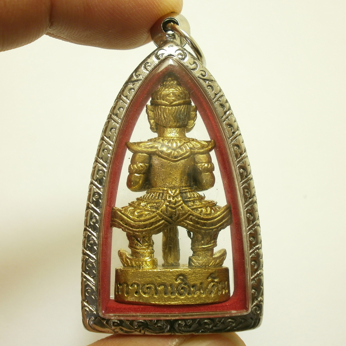 LP Suang magic monk blessed Thao Wessuwan Asura Deva Wealthy King Lord of all