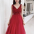 Beautiful Red New Prom Dress 2020, Red Formal Gown 2020