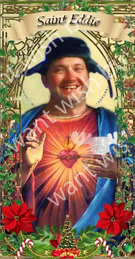 Ellen Griswold - Christmas Vacation -  Celebrity Saint Prayer Candles - Ltd