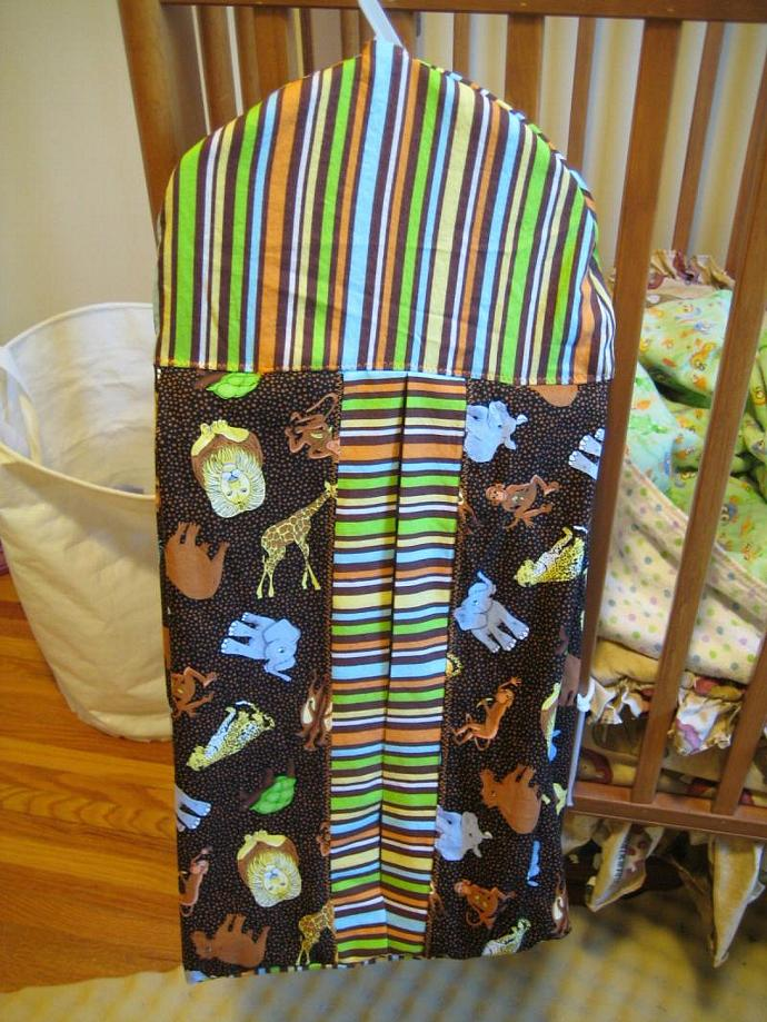 Safari Stripes Diaper Stacker