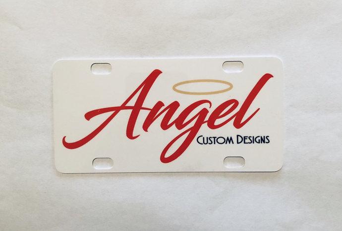 Custom license plate/holder