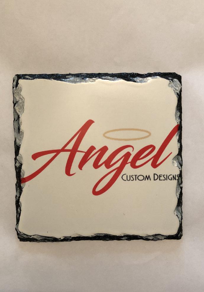 Custom slate plaque