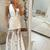 White Prom Dress,Tulle Prom Gown, Halter Prom Dress, A-Line Prom Gown 9979