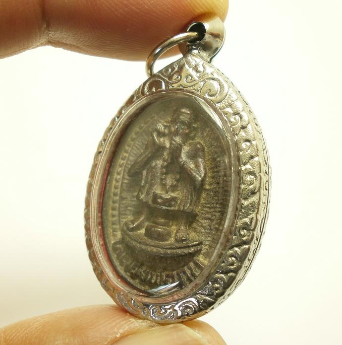 LP Kob Wat Kaosarika Temple magic miracle pendant real powerful amulet that will