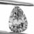 Pear Shape 94pt. Diamond F SI2 Quality, GIA Certified