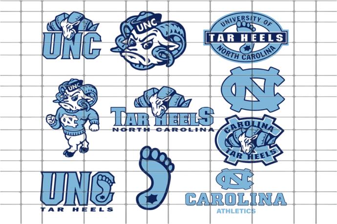 North Carolina,sport svg, sport gift, for for sport lover, football lover, NCAA