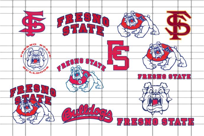 Fresno State Bulldogs university, Fresno State Bulldogs university svg, Fresno