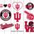 Indiana university, Indiana university svg, Indiana university gift, Indiana