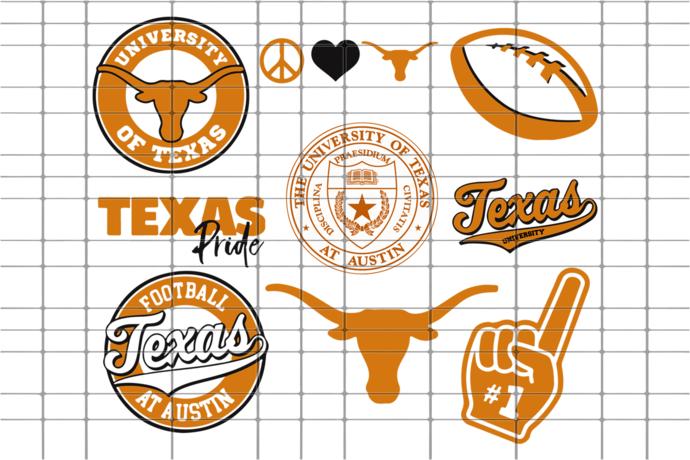 Texas university, Texas university svg, Texas university gift, Texas university