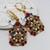 Earrings Tutorials, Rosemia Earrings, Beading Pattern, Digital Download, PDF