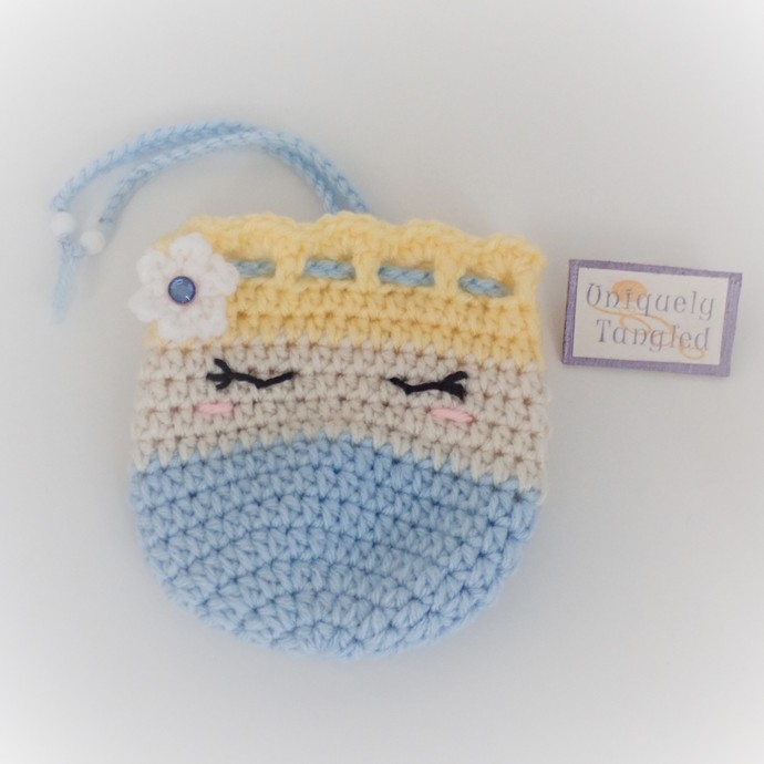 Princess Ella Trinket Pouch/ Drawstring