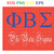 Phi Beta Sigma Custom Line Decal,Party Favor Buttons,Flair, Sorority, Zee