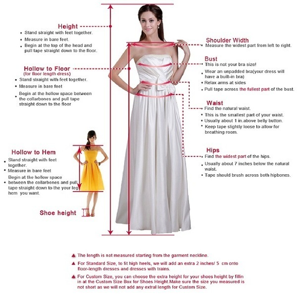 White prom dress , fashion prom gown
