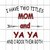 I have two titles mom and yaya and i rock them both,i have two titles mom and