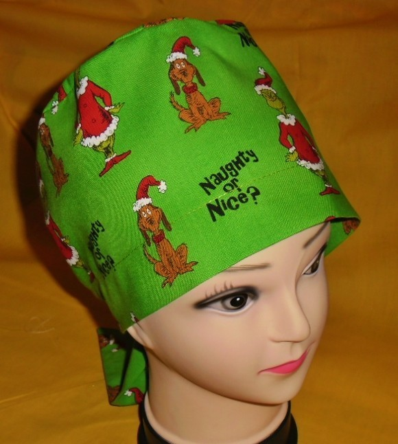Dr Seuss The Grinch And Max Christmas Pediatric Ladies Nurses Surgical Scrubs