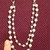Double Row Pearl Chain with Clasps