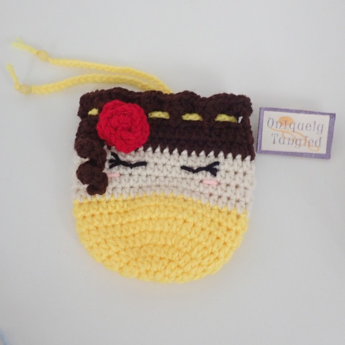 Princess Beauty Trinket Pouch/ Drawstring