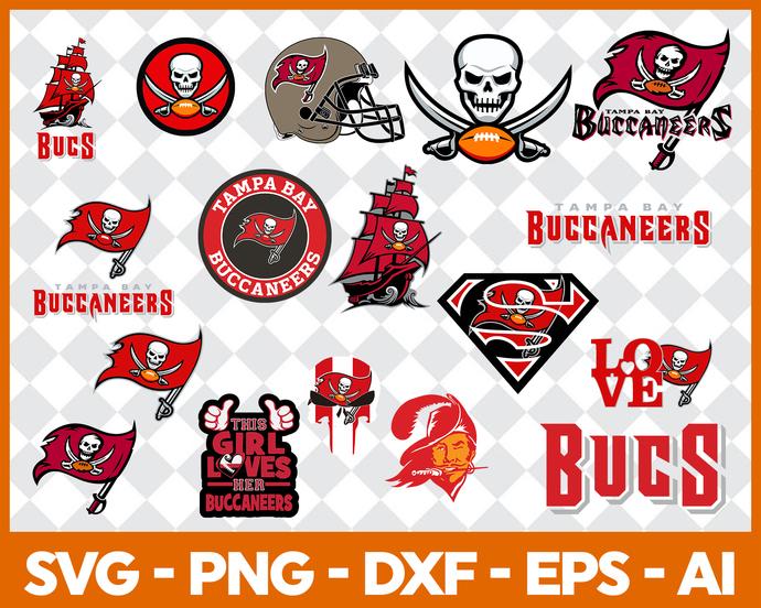Tampa Bay Buccaneers Svg Png Jpeg Dxf Eps Vector Files, cut file, digital