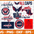 washington Capitals Svg Png Jpeg Dxf Eps Vector Files, cut file, digital