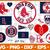 Boston Redsox Svg Png Jpeg Dxf Eps Vector Files, cut file, digital clipart, Nfl