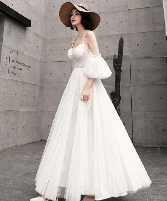 A-line Prom Dress ,Custom Made,New Fash