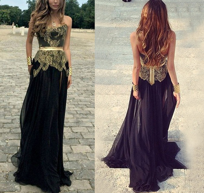 black Prom Dress,Mermaid Prom Dress,Formal Prom Dress,Pageant Gowns,Gorgeous