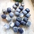 Sodalite Nugget Gemstone Beads, 17x15x15mm, set of 5 random picked gemstones
