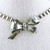 "15"" Chain Necklace Bow Tie"