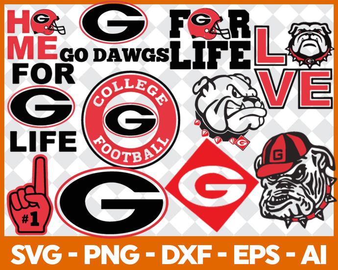 Go-Dawgs Svg Png Jpeg Dxf Eps Vector Files, cut file, digital clipart, NCA Svg,
