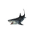 Great White Shark Decal 1 - Custom Sizes Available