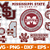 Mississippi State Bulldogs Svg Png Jpeg Dxf Eps Vector Files, cut file, digital