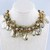 16'' Beaded Chain Choker Necklace