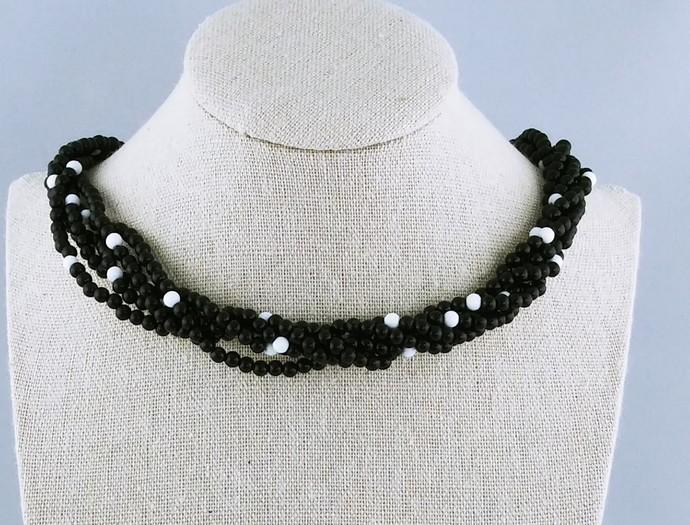 "18"" Beaded Multi Strand Necklace"