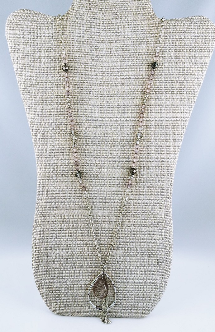 """37"""" Beaded Necklace"""