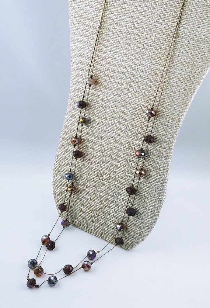 "37"" Beaded Chain Necklace"