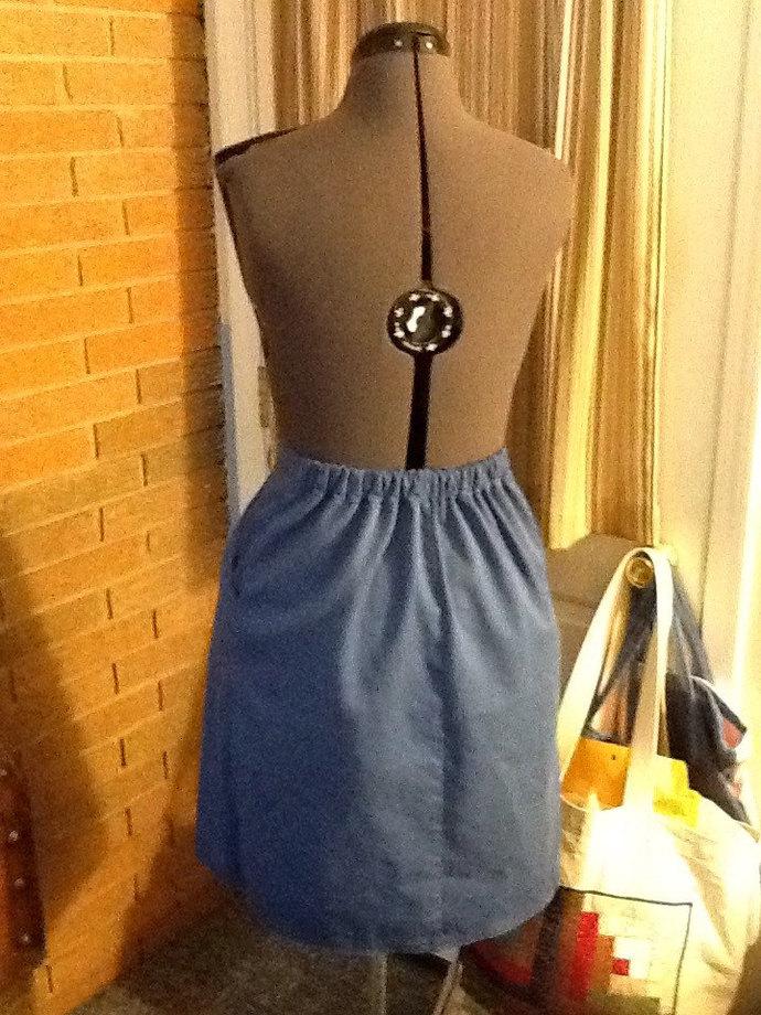 Budget Classic A-line Skirt