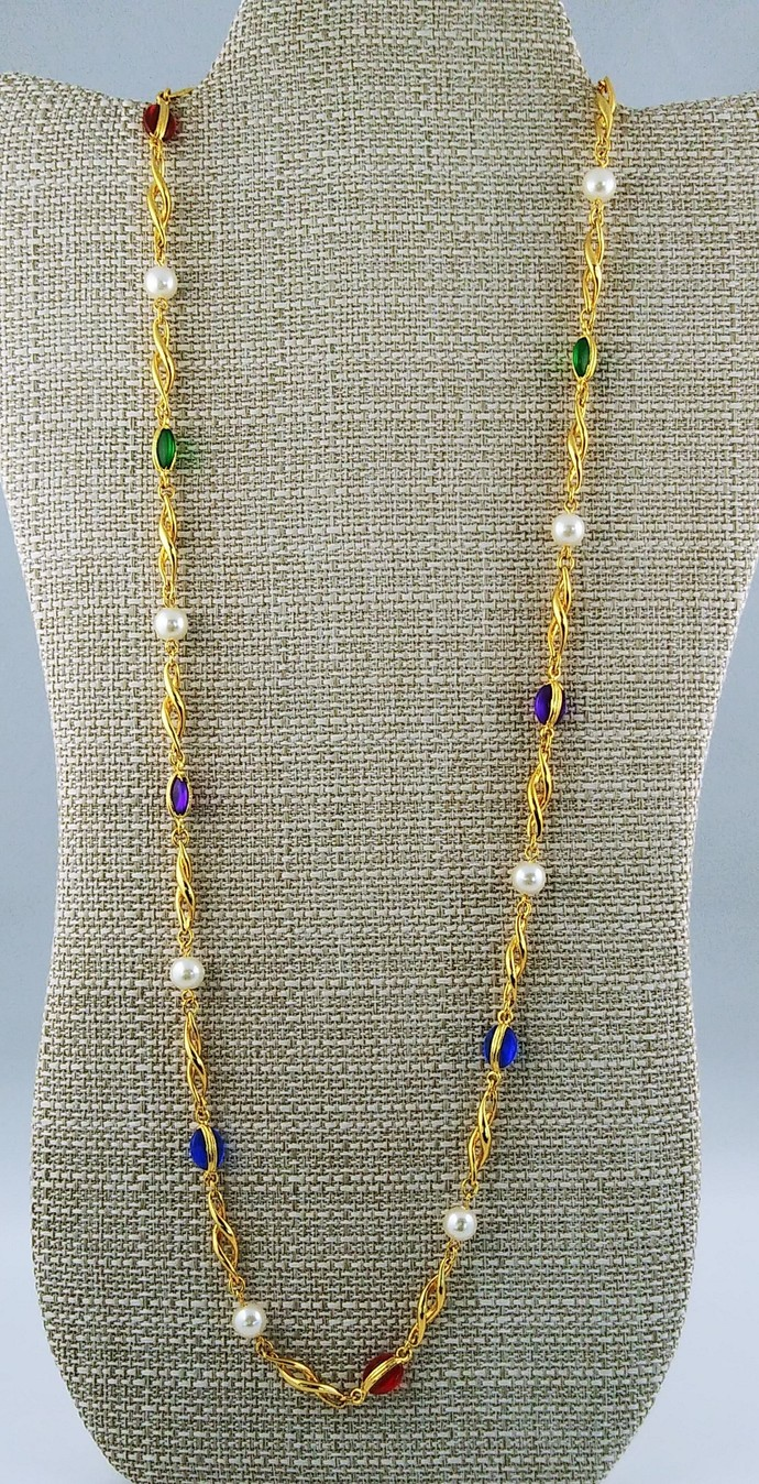 """30"""" Beaded Necklace"""