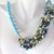 Turquoise jazzy necklace