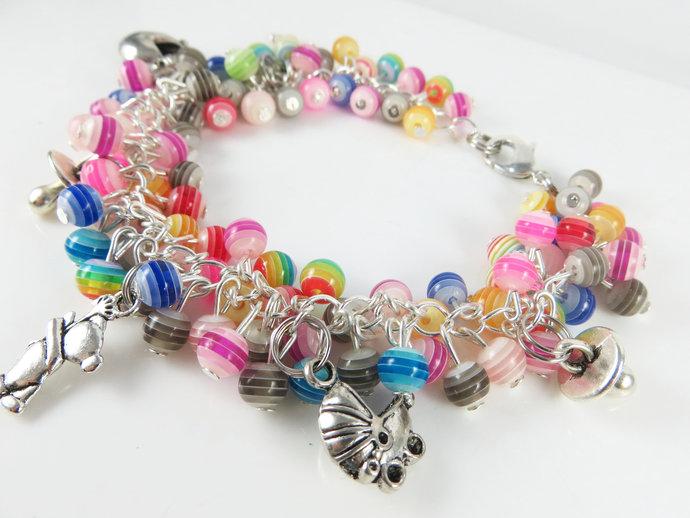 Clearance - Striped baby cha cha bracelet