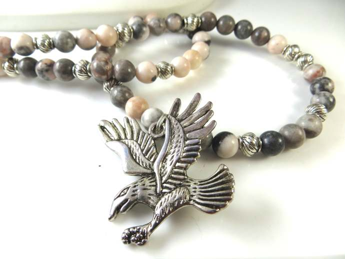 Clearance - eagle necklace