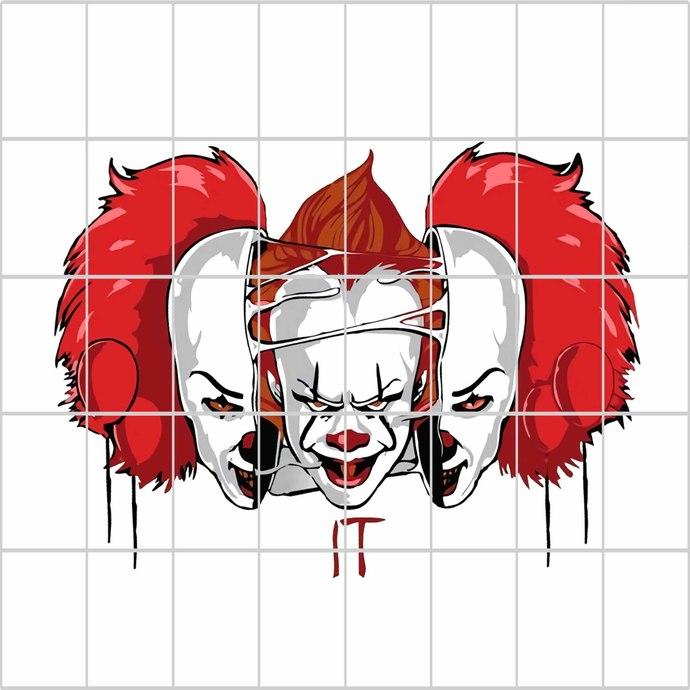 It pennywise, clown it, penny wise svg,it clown svg, it clown halloween svg,it