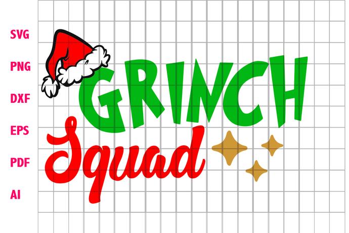 Grinch squad, grinch, the grinch, christmas grinch, grinch svg, grinch squad