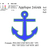 Anchor 2 designs in1 embroidery design , Anchor embroidery design applique and