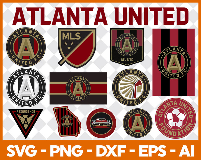 Atlanta United FC, Atlanta United FC logo, Atlanta United FC svg, Atlanta United