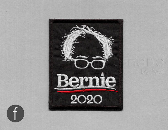 Bernie 2020 Iron On Patch