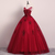 Lovely Red Tulle Ball Gown Prom Dress 2020, Red Party Dress