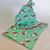 Fabric gift bags, Set of two bags, Holiday fabric, Holiday gift bags, Party gift