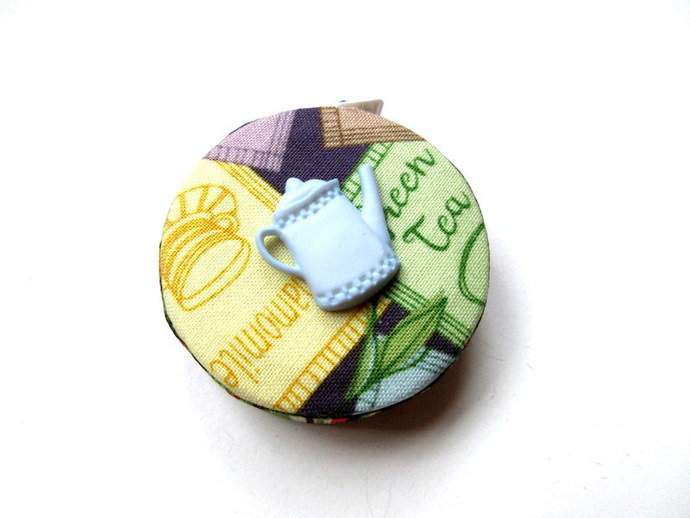 Measuring Tape Tea Lover Small Retractable Tape Measure